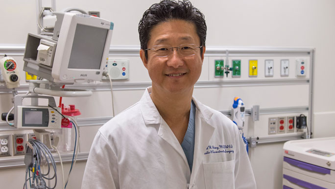 Plastic and reconstructive surgeon David Chang, MD