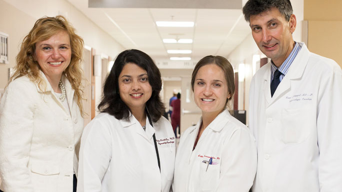 Fay Hlubocky, PhD, Nita Karnik Lee, MD, Libbe Hassenfritz, PA and Ernst Lengyel, MD