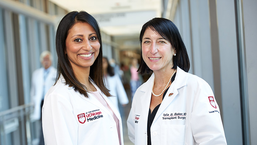 Talia Baker, MD, Michael Charlton, MD, and Anjana Pillai, MD