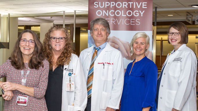 Supportive Oncology team, including Christopher Daugherty, MD