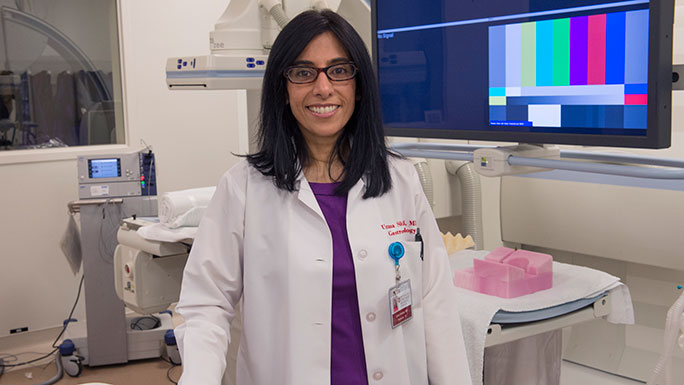 Uzma D. Siddiqui, MD, Center for Endoscopic Research and Therapeutics (CERT)