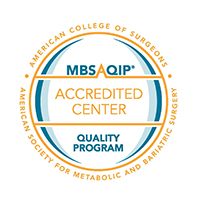 Accredited Center for Bariatric Surgery Badge - American College of Surgeons