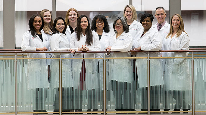 Team of general gynecologists at UChicago Medicine in Hyde Park