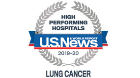 USNEWS 2019-20 lung cancer surgery rankings