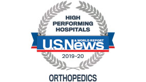 USNEWS 2019-20 ortho rankings