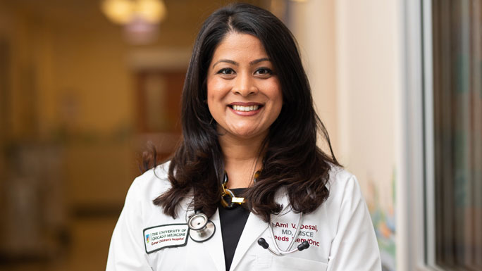 Ami Desai, MD, pediatric oncologist
