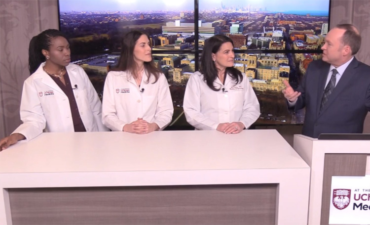 Dr. Shari Snow, Dr. Laura Douglass and Dr. Sandra Laveaux speak with Tim Brown abut fibroids and endometriosis.
