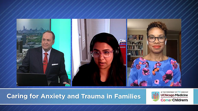Pediatric psychiatrists discuss anxiety and trauma in families