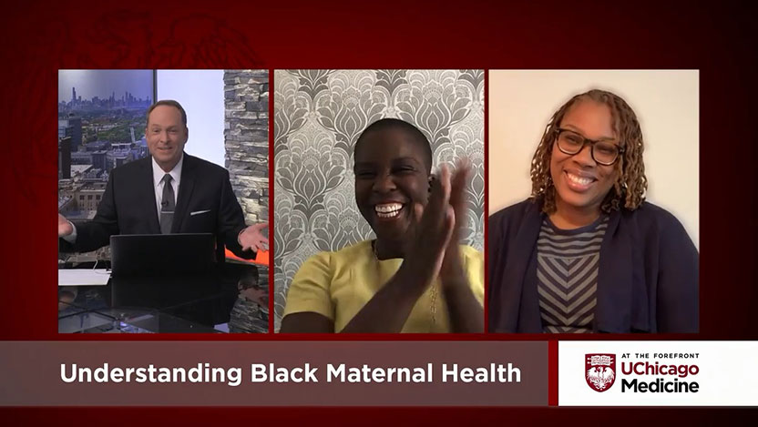 Video Q&A with midwives discussing Black maternal health