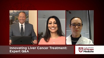 Innovating Liver Cancer Treatment January 2021, Anjana Pillai, MD, and Carla Harmath, MD