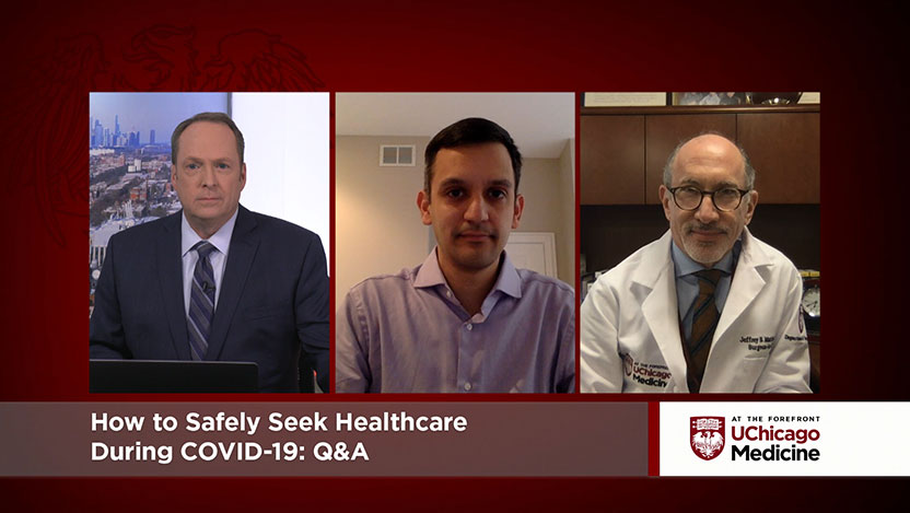 UChicago Medicine experts Dr. Jeffrey Matthews and Dr. Sachin Shah