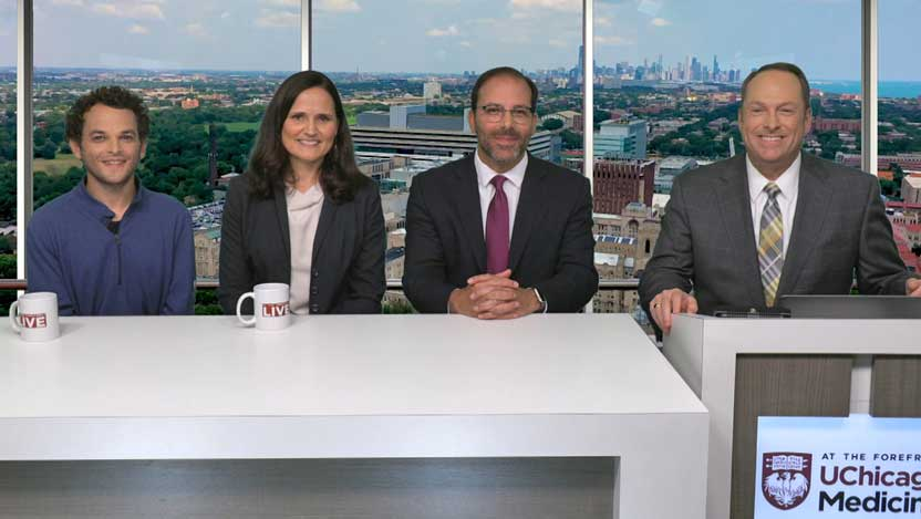 Jon Grossman, Sonia Kupfer, MD, Kevin Roggin, MD, stomach cancer At the Forefront Live