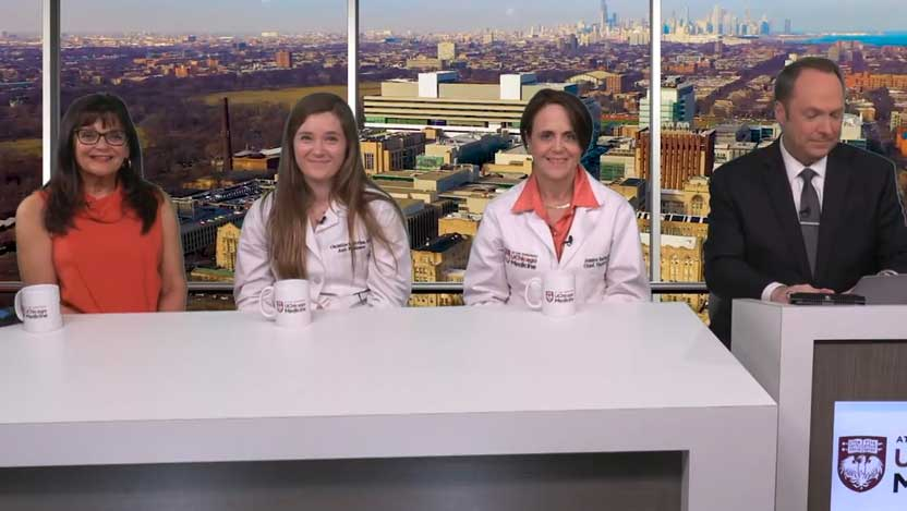 Physicians Christine Bestvina, MD, Jessica Donington, MD, and patient Kathy Tentinger joined us for a candid conversation on lung cancer