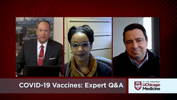 Tim Brown, Monica Peek, Stephen Weber, COVID-19 vaccine expert Q&A