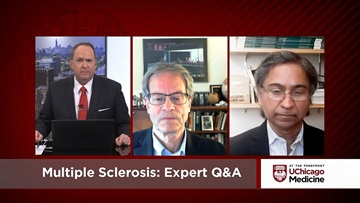 Adil Javed, MD,PhD and Anthony T. Reder, MD discuss multiple sclerosis on At the Forefront Live.