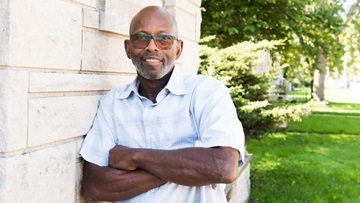 Milbert Kennedy, male breast cancer survivor