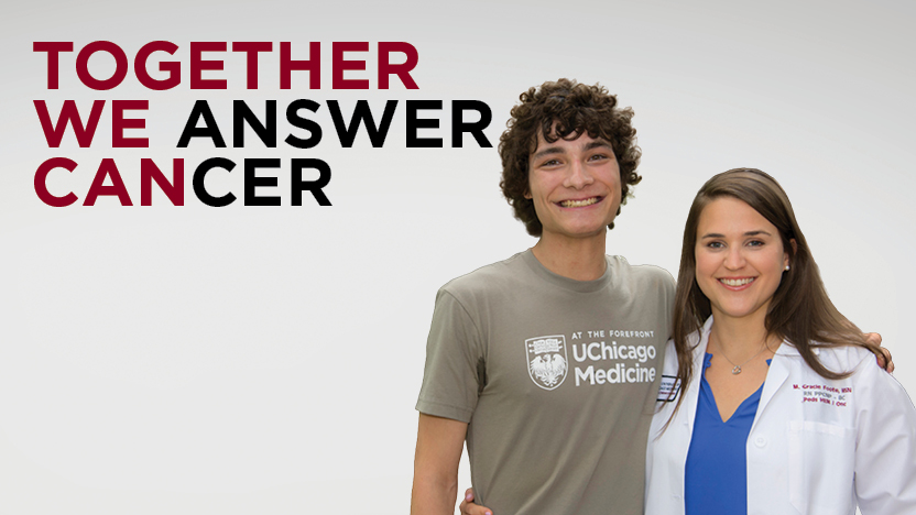 Together We Answer Cancer banner