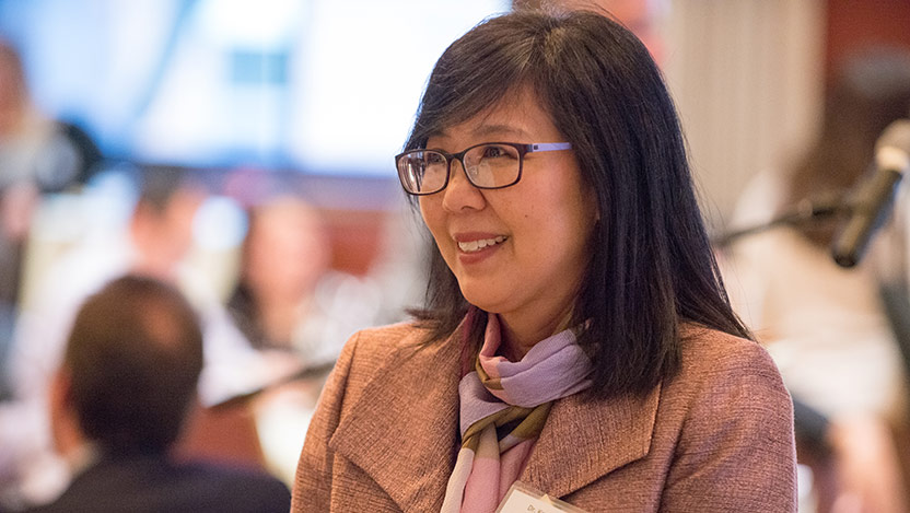 Karen Kim, MD, director of the Center for Asian Health Equality