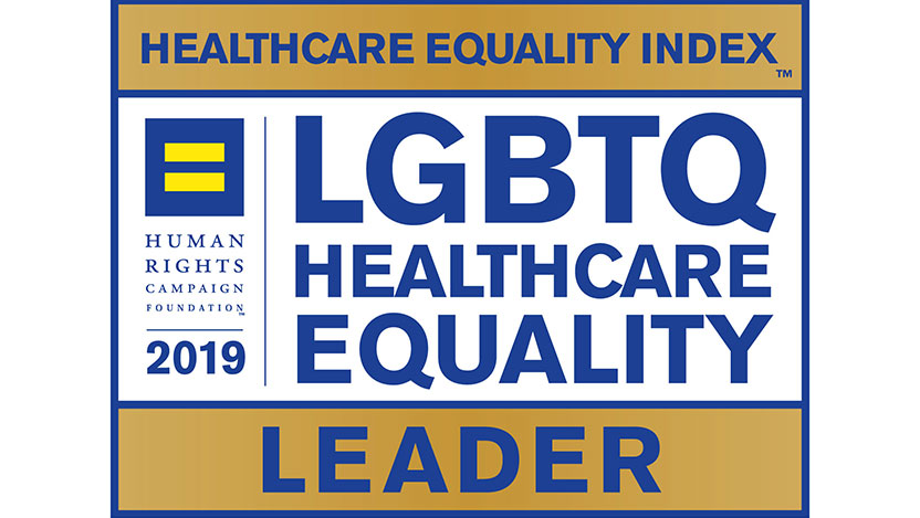 2019 HEI LGBTQ Healthcare Equality badge