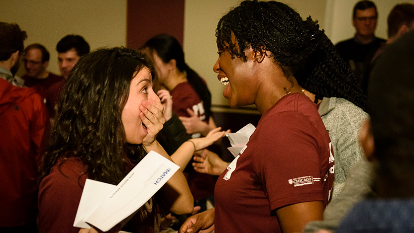 Pritzker's Class of 2019 meets its Match - UChicago Medicine