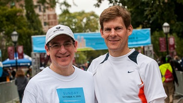 Jim Schaffer and Ross Milner MD