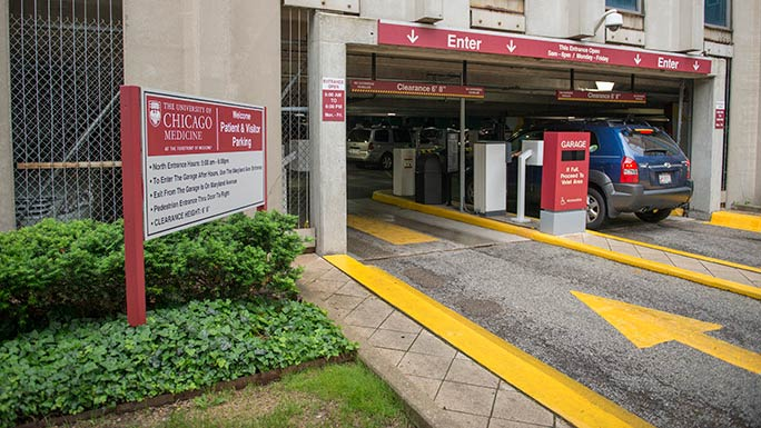 Patient and Visitor Parking