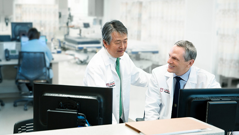 Dr. John Fung and Dr. Michael Charlton, leaders of the UChicago Medicine Transplant Institute