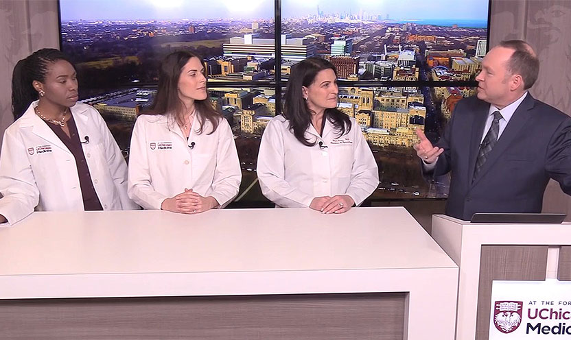 Drs. Sandra Laveaux, Laura Douglass and Shari Snow answer questions about endometrios and fibroids