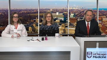 Interview about vaping risks and e-cigarettes with dr. Andrea King and dr. Renea Jablonski