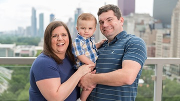 Jessica Blackford-Cleeton and family