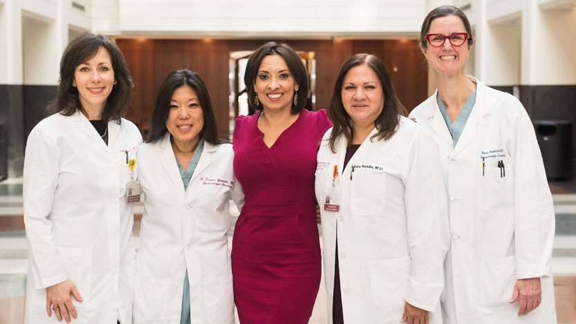 Clinical trial, team approach help breast cancer patient