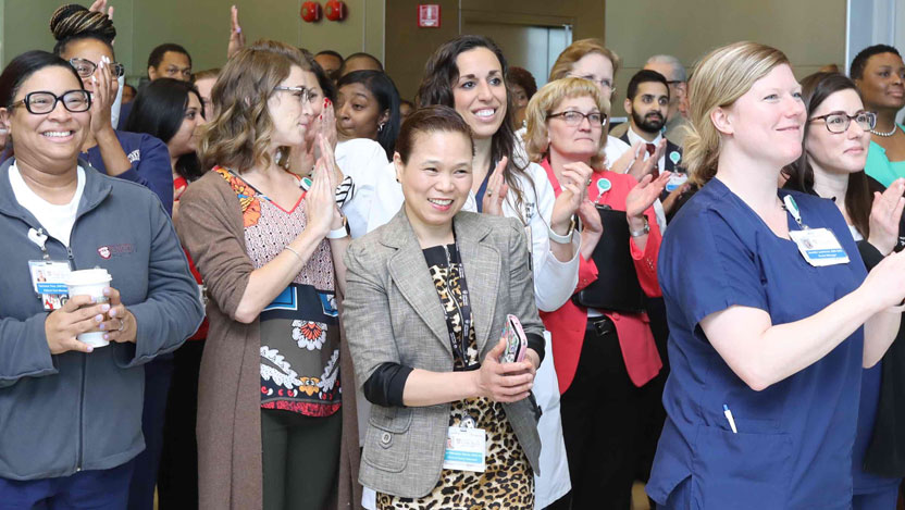 Nurses cheer as UChicago Medicine receives Magnet recognition