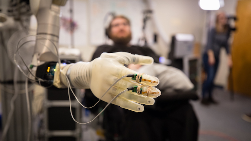 Neuroscientists to develop brain-controlled prosthetic limbs