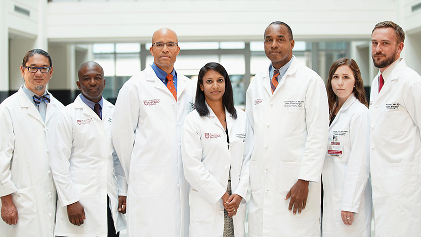 Team of surgeons to lead trauma center care