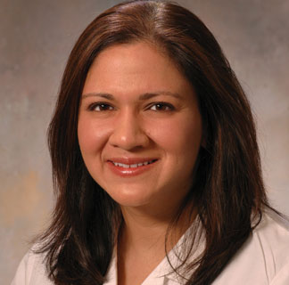 Medical oncologist Rita Nanda, MD