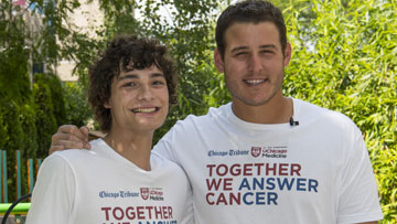 Anthony Bendy and Anthony Rizzo