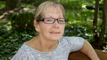 Ingalls lung cancer patient Diane Mitchell