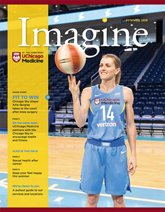 Cover of the Summer 2018 issue of Imagine magazine