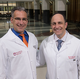 Dr. Cohen and Dr. Rubin, leaders of the IBD Center