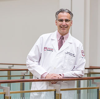 Dr Russell Cohen, director of the Inflammatory Bowel Disease Center