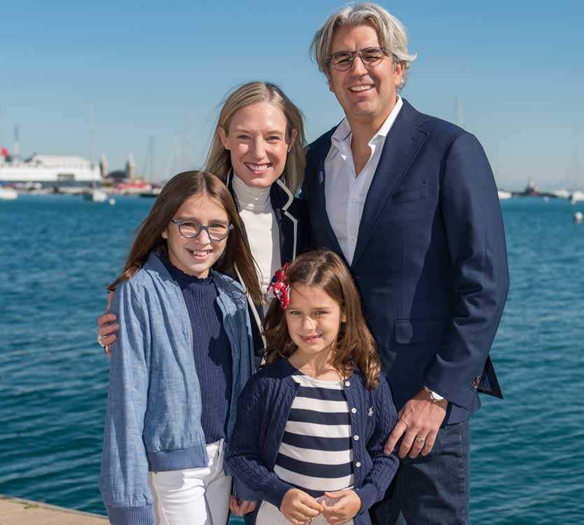 Jacelyn Walsh and family