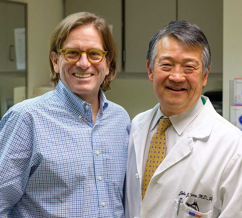 Richard Vanderslice and Dr. John Fung