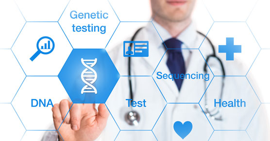 genetic testing illustration
