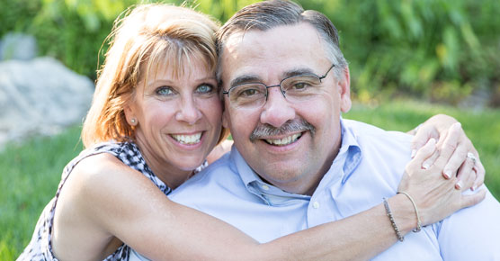 CAR T-cell therapy patient Scott McIntyre and wife
