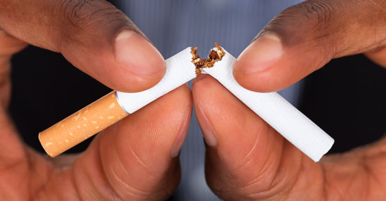 Courage to quit smoking