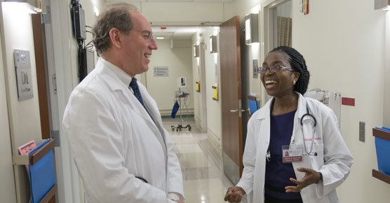 Michael Thirman, MD, and Olatoyosi Odenike, MD