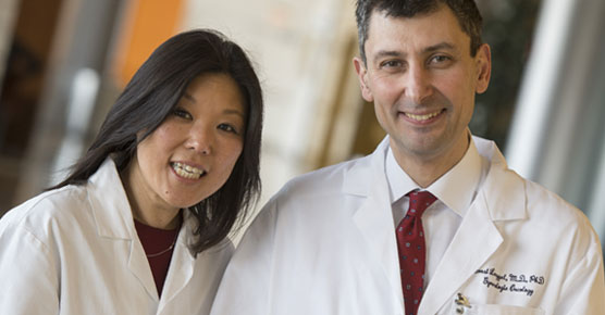 S. Diane Yamada, MD, and Ernst Lengyel, MD, gynecologic oncologists