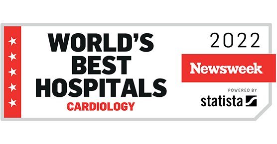 Newsweek Cardiology Rank 2021