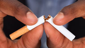 Smoking cessation courage to quit