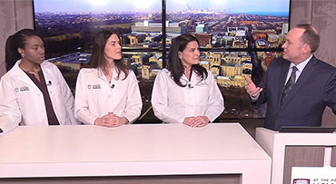 Gynecologic surgeons Sandra Laveaux, MD, MPH, Laura Douglass, MD, and Shari Snow, MD, answer questions about endometriosis and fibroids
